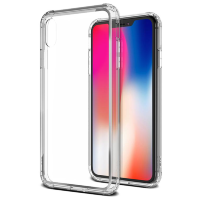 Чехол VRS Design Crystal Chrome для iPhone X/Xs Clear